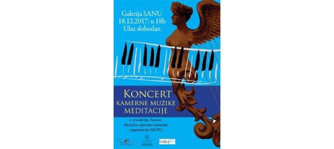 """Koncert srpske kamerne muzike """"Meditacije"""""""